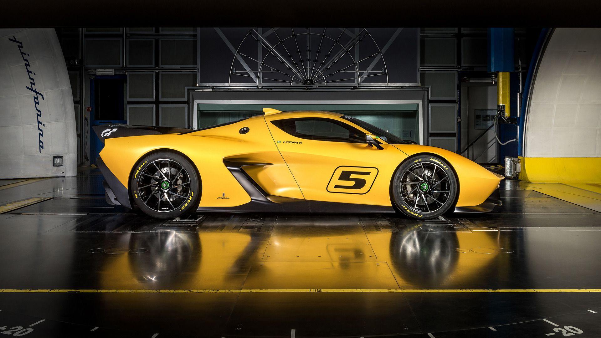 Pininfarina Designed Fittipaldi Ef7 Vision Gran Turismo Is A