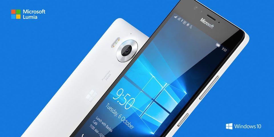 Sabías que Microsoft Lumia 950 y 950 XL, los nuevos buques insignia con Windows 10