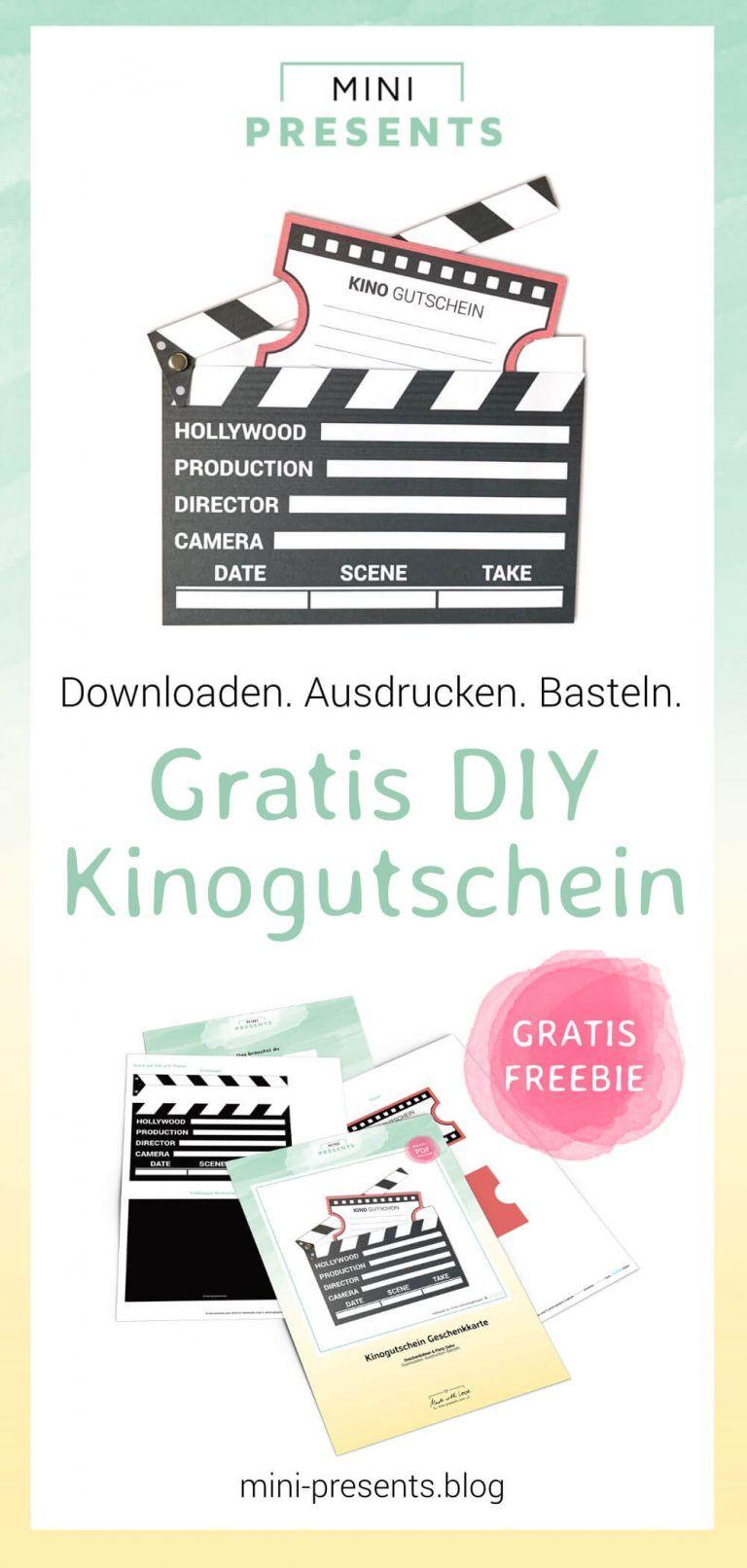 Ausdrucken kino gutscheine vorlagen kostenlos Faszinieren Vorlage