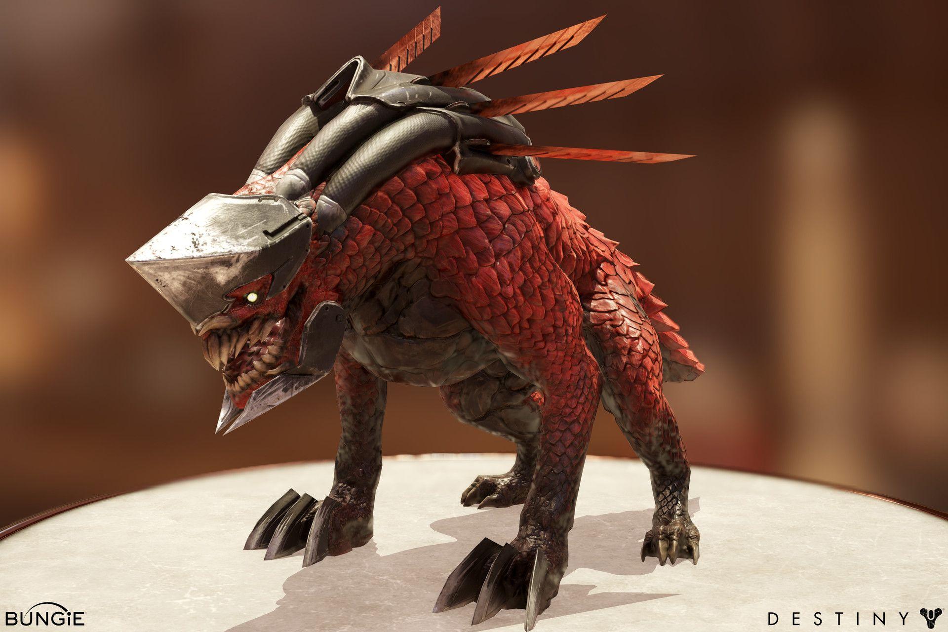 ArtStation - Destiny 2: Cabal War Beast, Mike Jensen   Characters