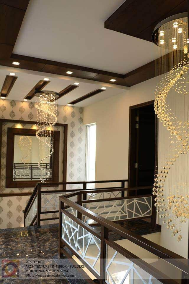 Modern House Design By I I Studio 1 Kanal House House Ceiling