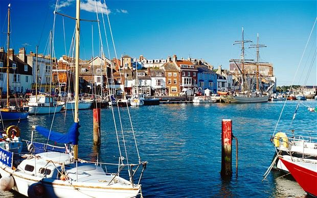 the seaside towns of Weymouth and Portland