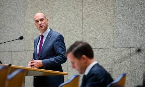 Segers (ChristenUnie) sneert naar Rutte