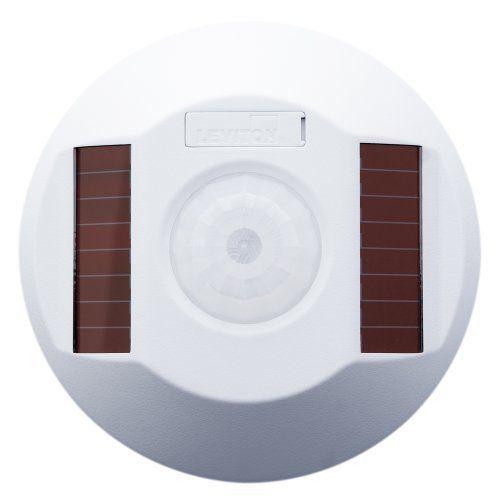 Leviton Wsc15 Irw Wireless Self Powered Pir Occupancy Sensor 1500 Square Feet White By Leviton 168 35 Sensor Motion Sensor Lights Outdoor Leviton