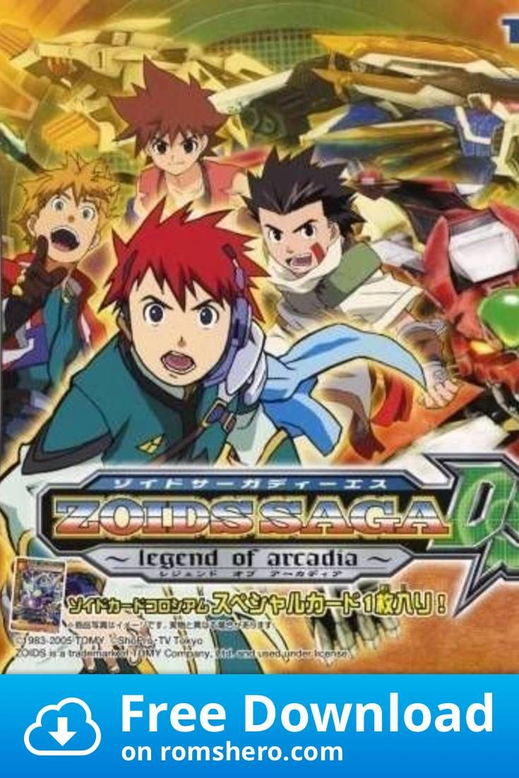 Download Zoids Saga DS Legend Of Arcadia Nintendo DS