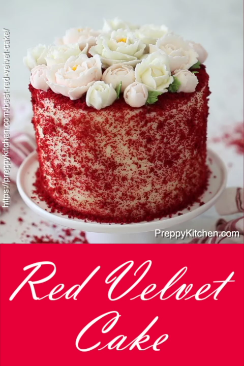 Red Velvet Cake Video Velvet Cake Recipes Best Cake Recipes Red Velvet Cake Recipe