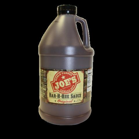 Joe S Kansas City Bar B Que Sauce 1 2 Gal Kansas City Bars Sauce