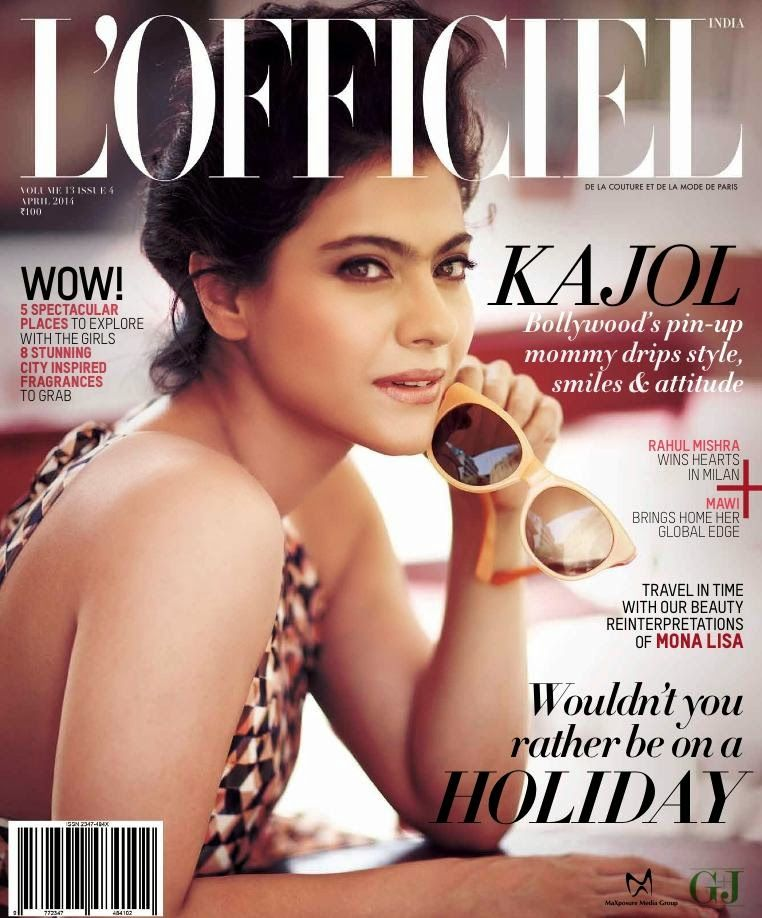 Kajol Hot Photos From L\'officiel Magazine Photoshoot April 2014 ...