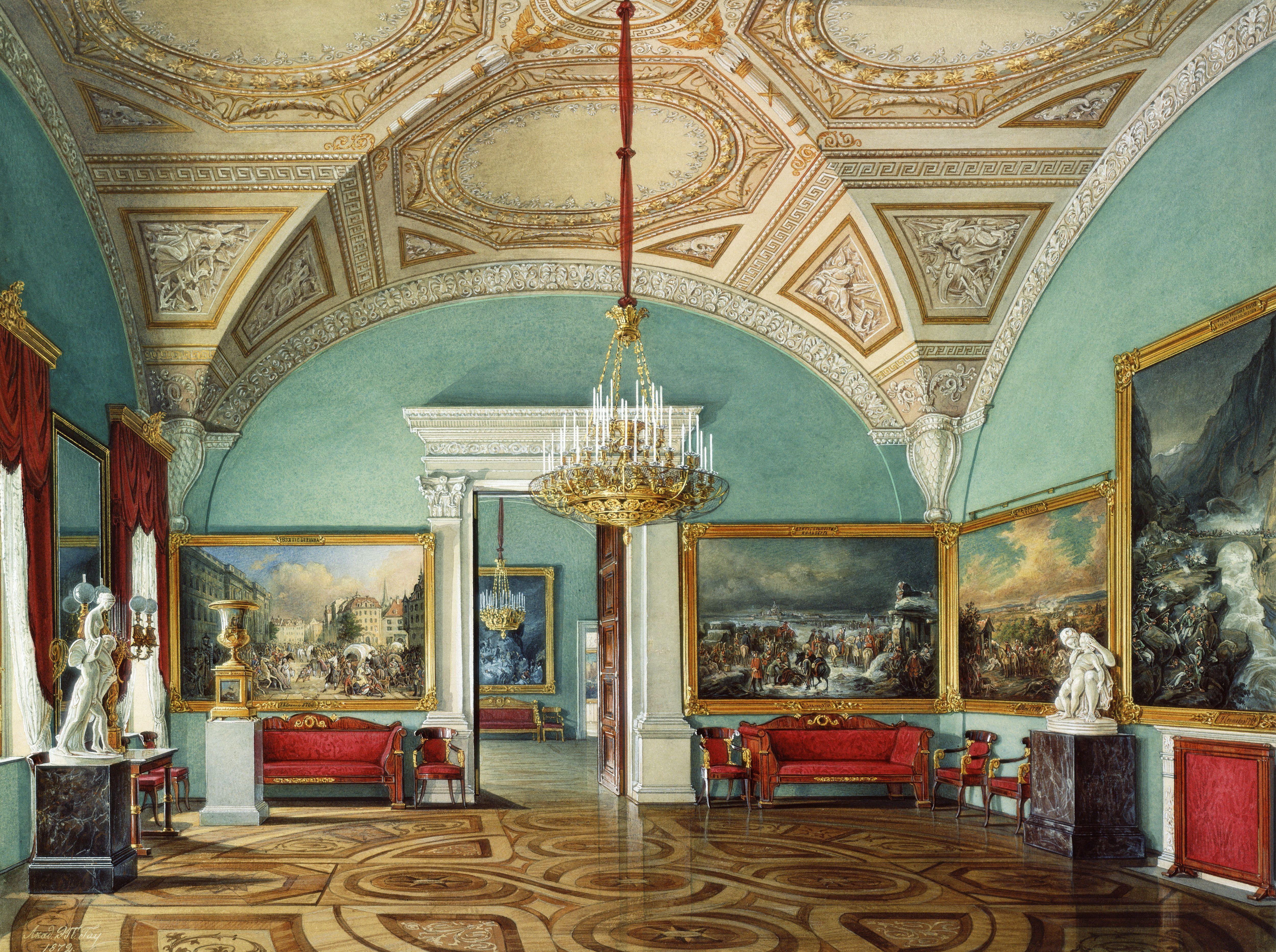 Edward Petrovich Hau Interiors Of Winter Palace