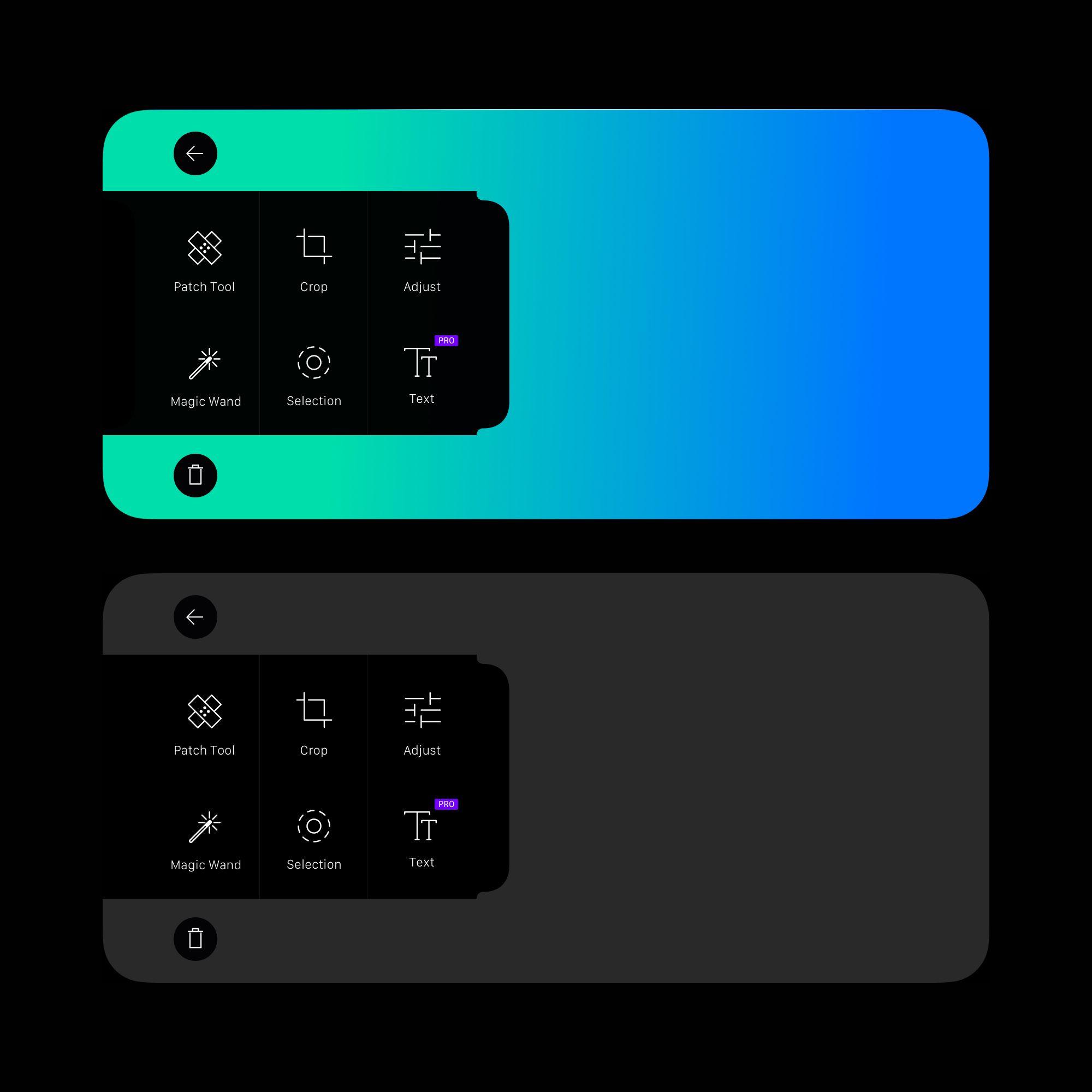 Iphone x photo app widget app icon design photo apps app