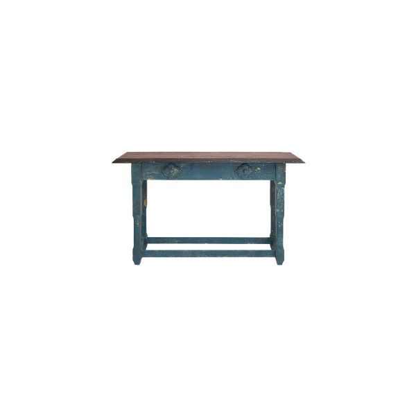Console Table By Woodland Imports ❤ Liked On Polyvore Featuring Home,  Furniture, Tables,