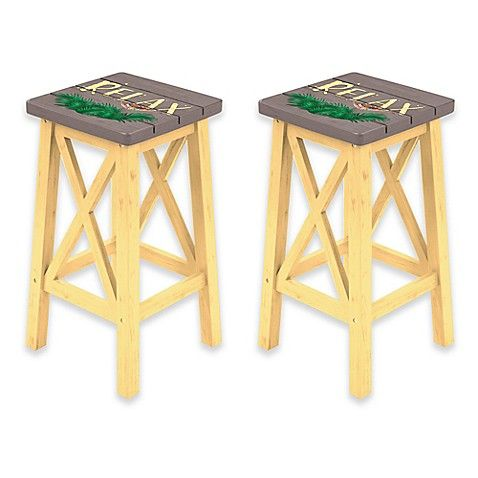 Best Margaritaville® Relax Bar Stool In Grey Yellow Home Bar 400 x 300