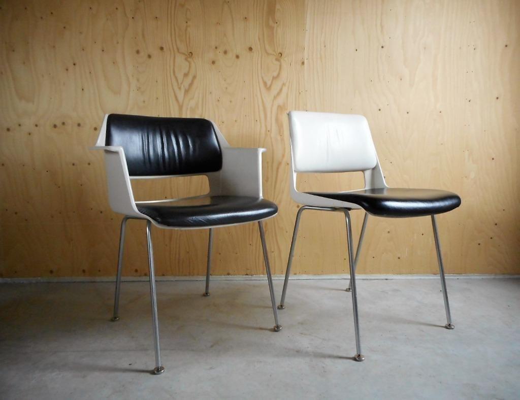 ≥ vintage stoelen leder stoelen marktplaats gispen