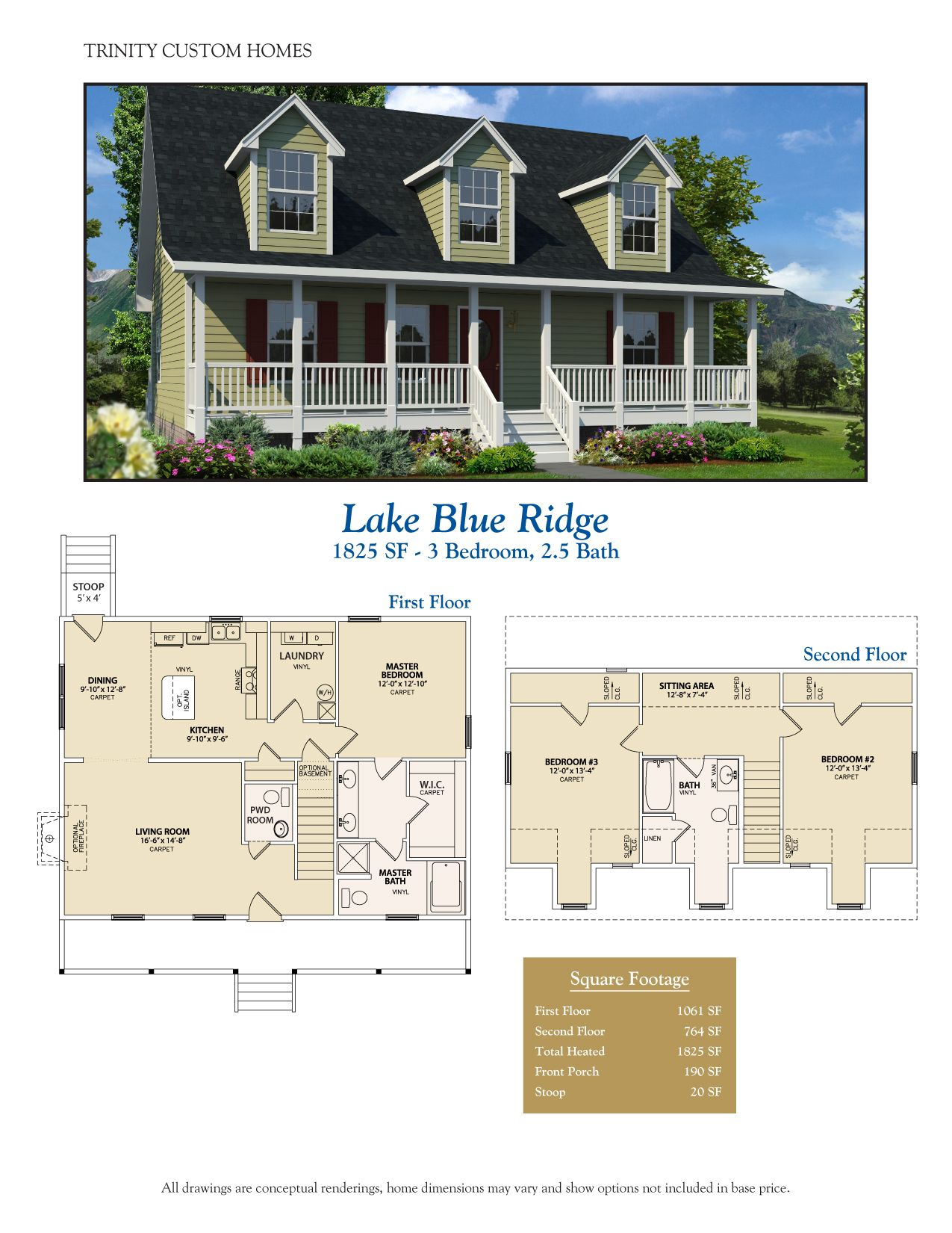 Take A Look At All Of Trinity Custom Homes Georgia Floor Plans Here We Have A Lot To Offer So Contact Us Today For More House Plans Floor Plans Custom Homes
