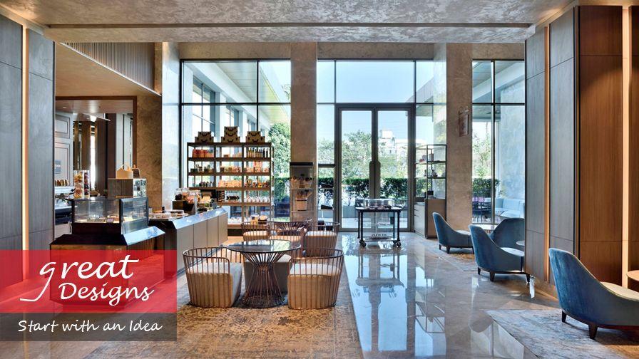 Great designs start with an idea Interior Design Marriott hotels