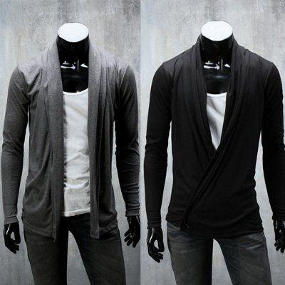 Free Shipping Men's Sweater Cardigans Knitwear Slim Casual Sweater 6364 $16.84