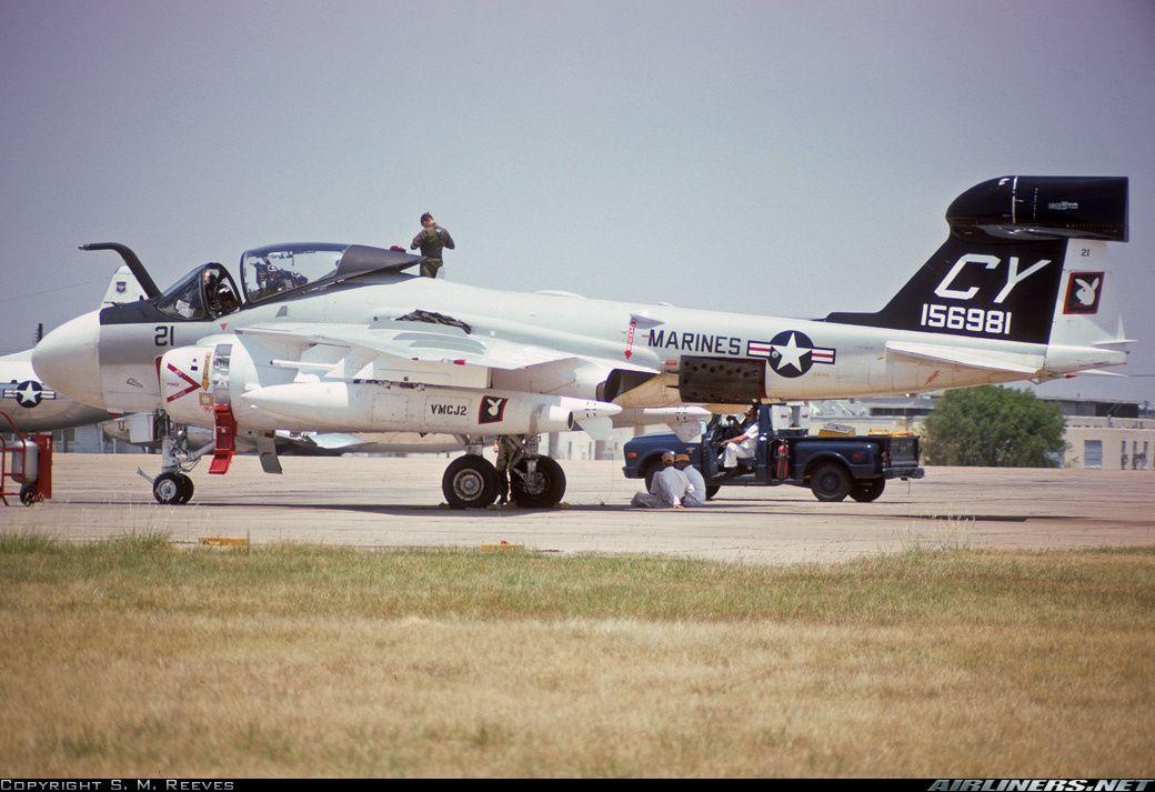 EA-6B Prowler Aircraft 8X12 PHOTOGRAPH USMC US Marine Corps