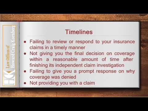 Los Angeles Unfair Insurance Claims Lawyer With Images