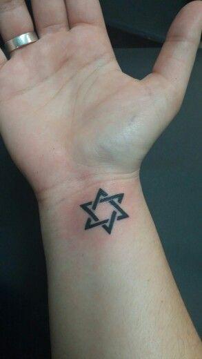 Small Star Of David Tattoo: Star Of David Tattoo