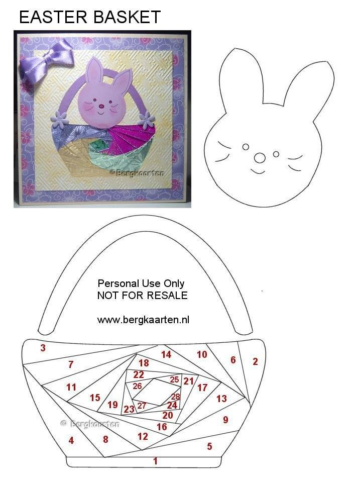 Irisvouwen: Easter