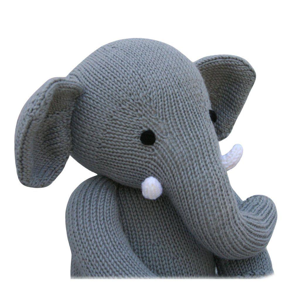 Elephant (Knit a Teddy) Knitting pattern by Knitables ...