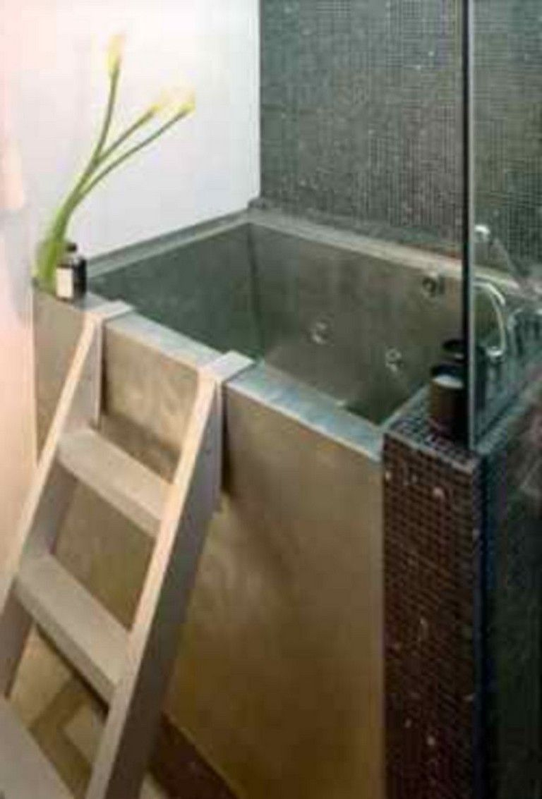 55 simple bathroom design ideas with a small tubs