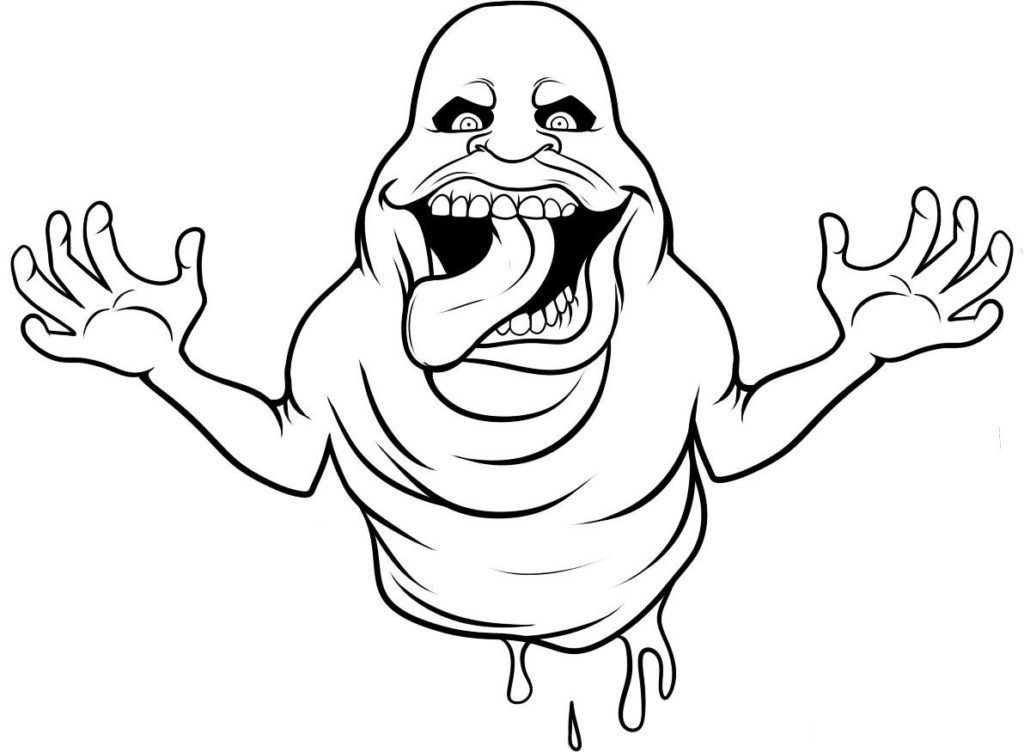 Free Coloring Page For Kids Ghostbusters Coloring Pages Scary Coloring Pages Halloween Coloring Scary Halloween Coloring Pages