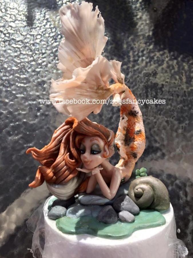 Mermaid Cake Model By Zoe S Fancy Cakes Motivkuchen Pinterest
