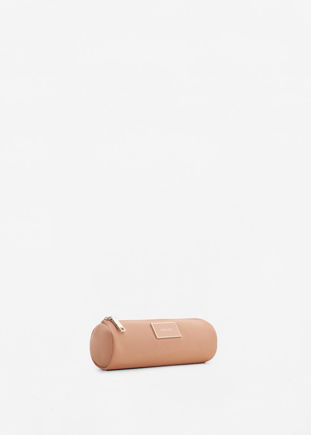 1a0aae841a3a6 Fermuarlı kozmetik çanta - Kadın   mango