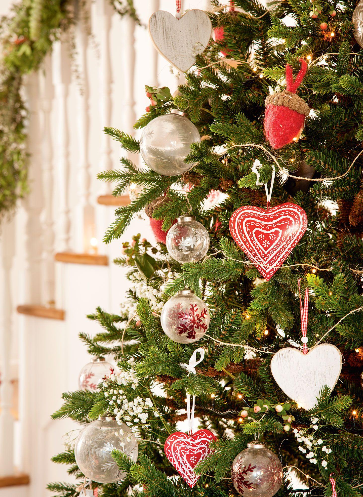 Navidad ideas para decorar de verde natural tu recibidor for Decoracion navidad