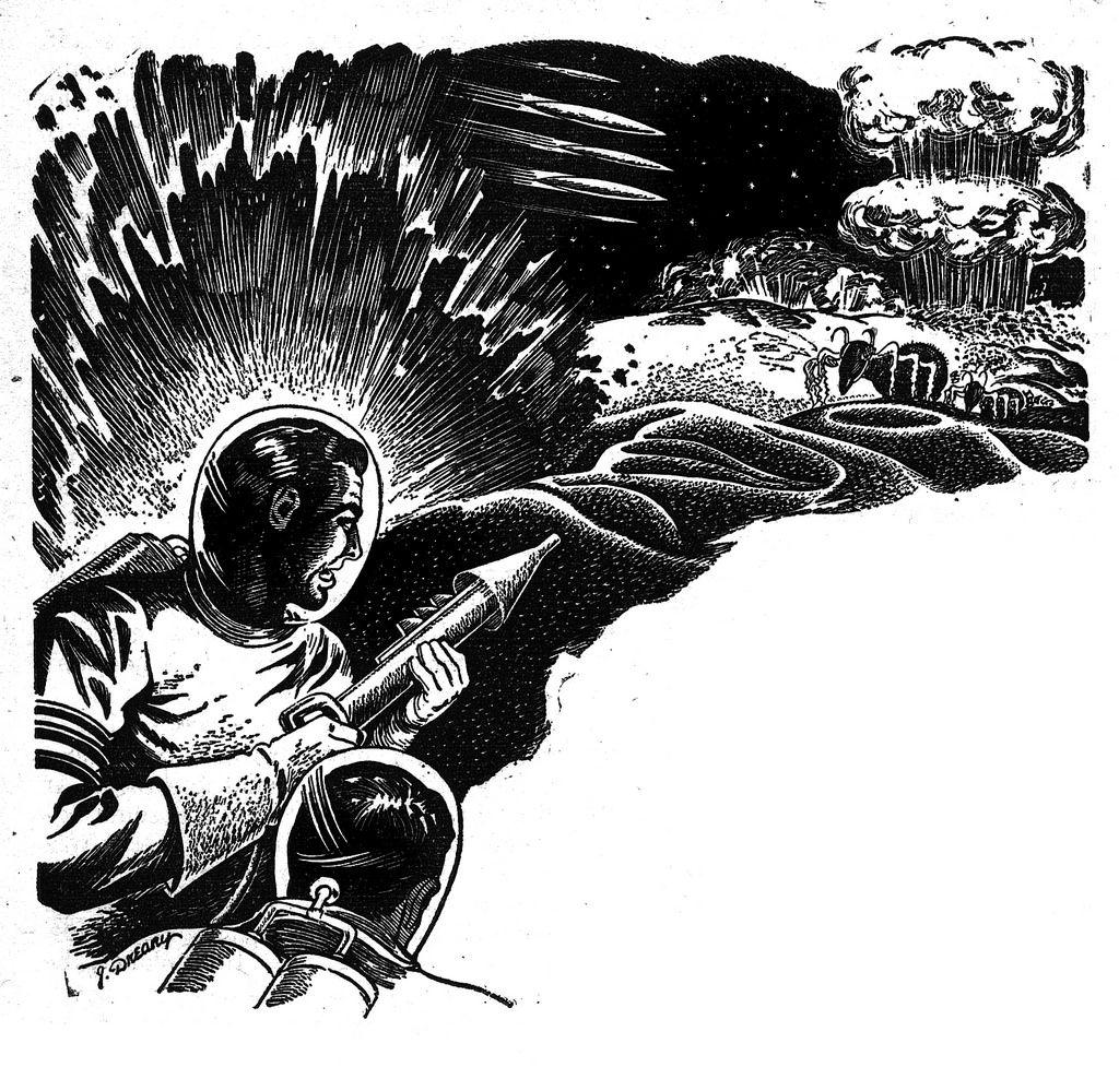 Vintage Sci Fi Illustrations Retro Science Fiction: Fantastic Vintage Science Fiction Artwork From Magazines