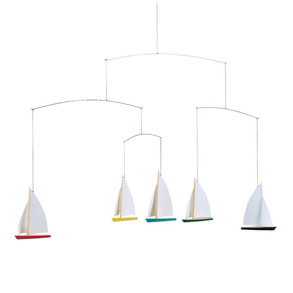 Flensted Mobile Schiffchen Wohn Design Basteln Mit Senioren Holz