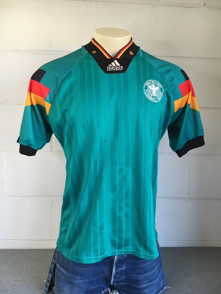 Details about Adidas Jersey Germany 90s Vintage Football