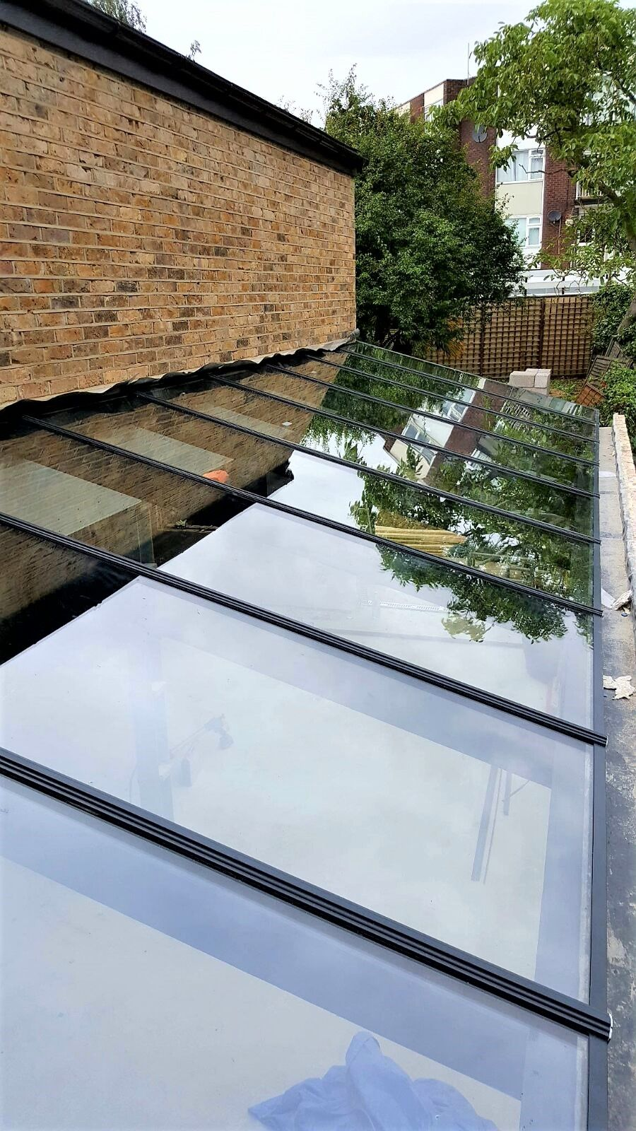 Glass Roof With Glazing Bar System Glass Roof Panels Glass Roof Conservatory Cost