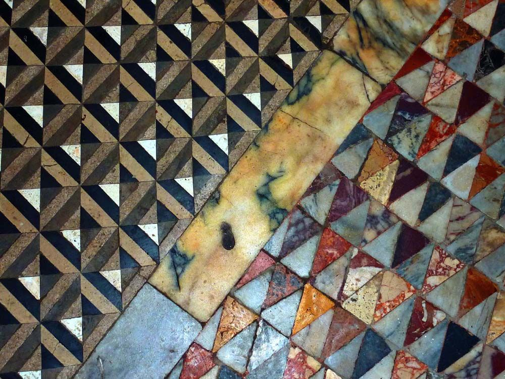 Beautifully crafted art and amazing history surrounds you inside St. Marks in Venice. Look down at your feet and even the floor is magical and stunningly conceived and executed. Fun game for kids: buy postcards of the floor mosaics and they try to find them.