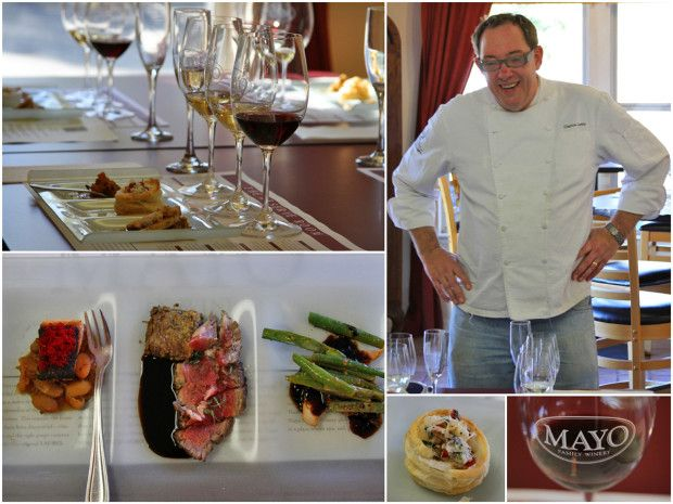 Mayo Family Winery Reserve Room has delicious #wine and #food pairings! Check out our article!