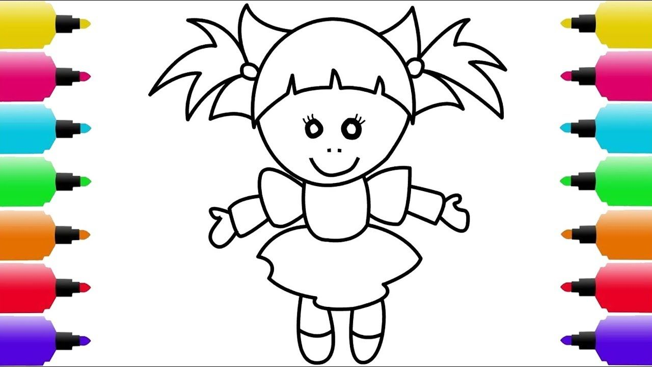 Baby Toy Coloring Page Drawing Coloring Books For Kids Lovely Baby Toys Coloring Books Coloring Pages Baby Toys