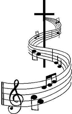 Church Choir Clipart Christian Music Clip Art Music Notes Art Music Clipart Music Artwork