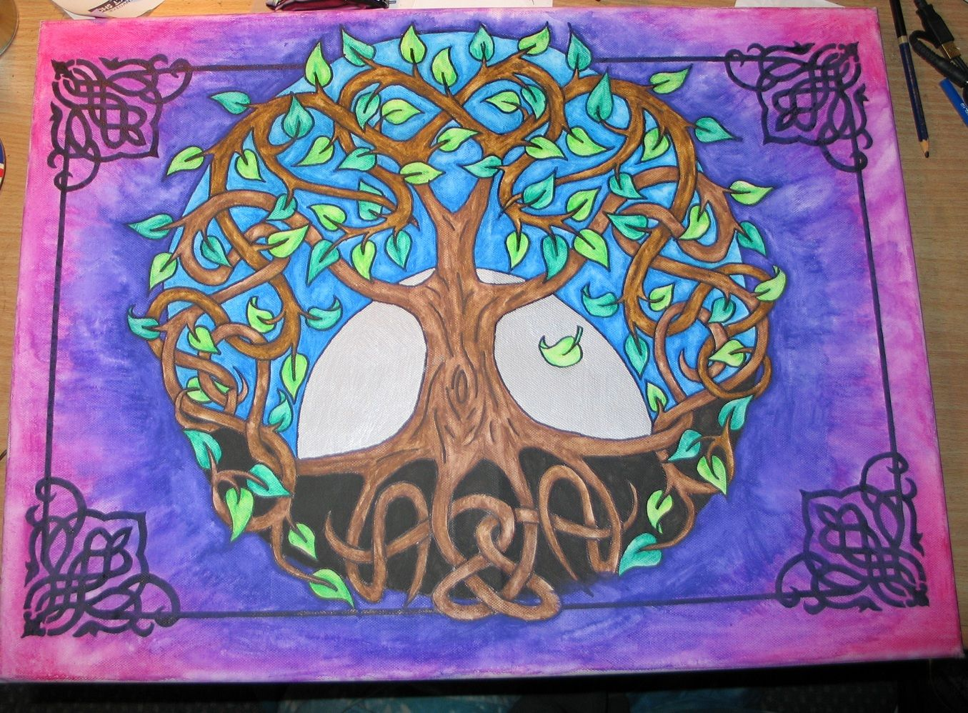 Pin By Christy Jones On Painting Ideas Pinterest Celtic Tree Of