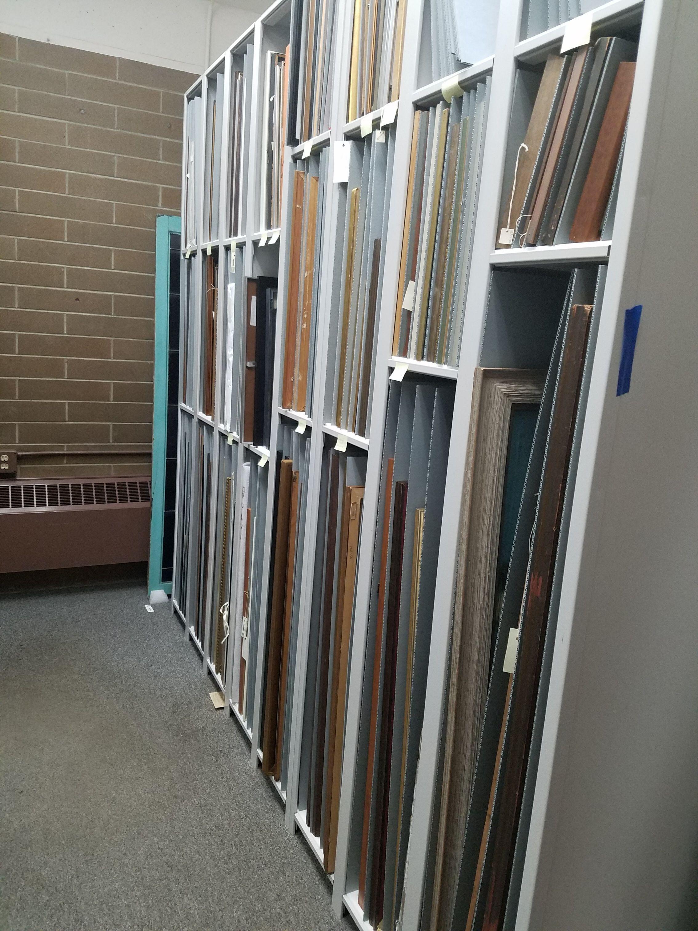 Artwork storage solutions art storage racks framed
