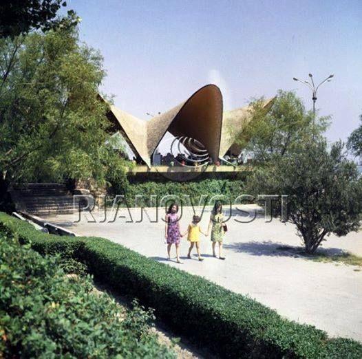 """Кафе """"Жемчужина"""" в Баку, 1970 год"""