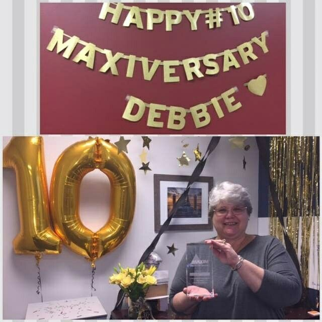 CONGRATULATIONS, DEBBIE! Our Very Own Debbie Mills, One Of