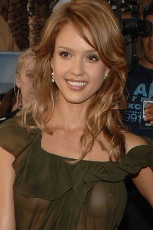 Curious Jessica alba see through bra pity, that