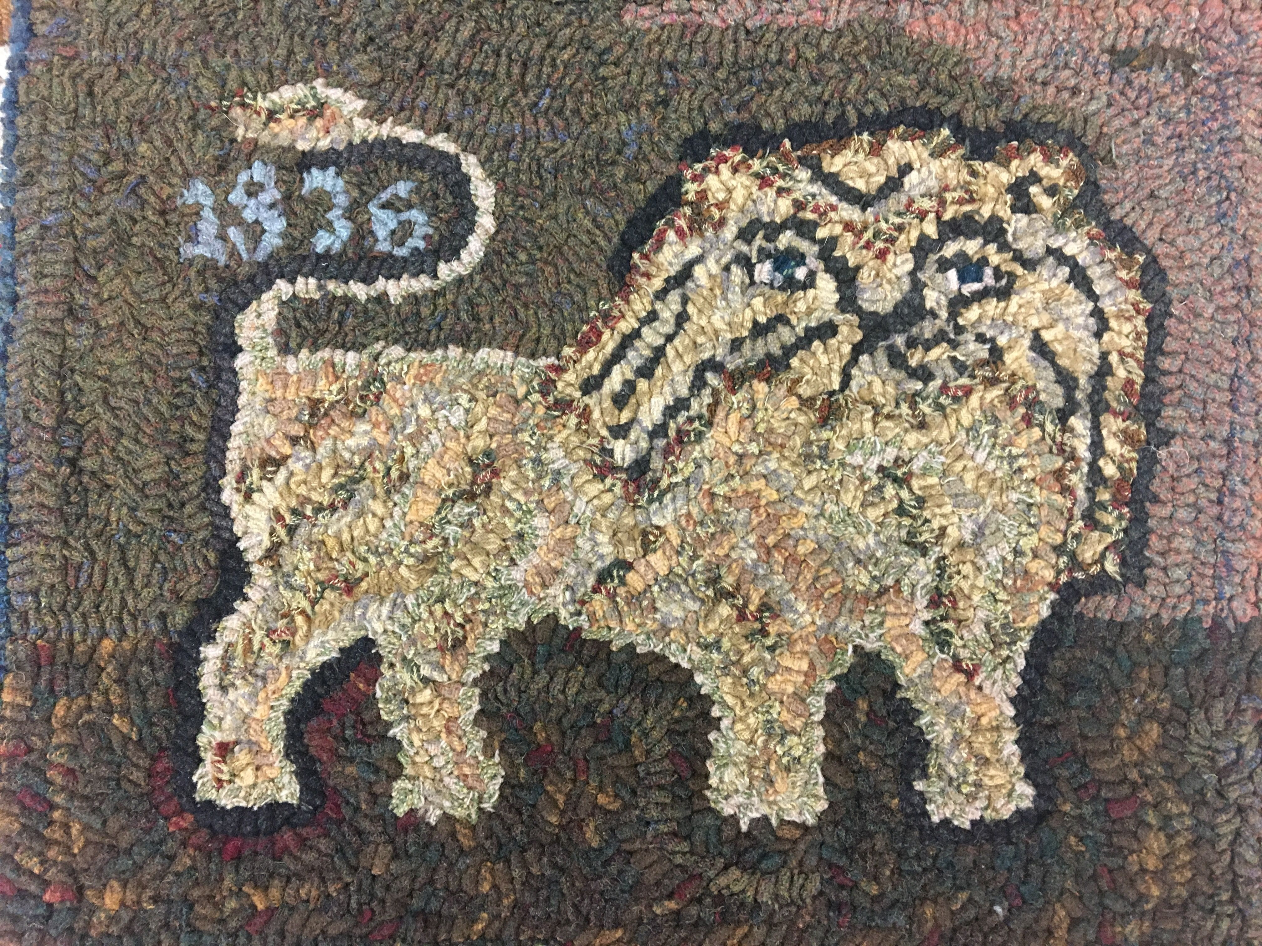 Pin by alice strebel on Hit and miss Rug hooking, Hand