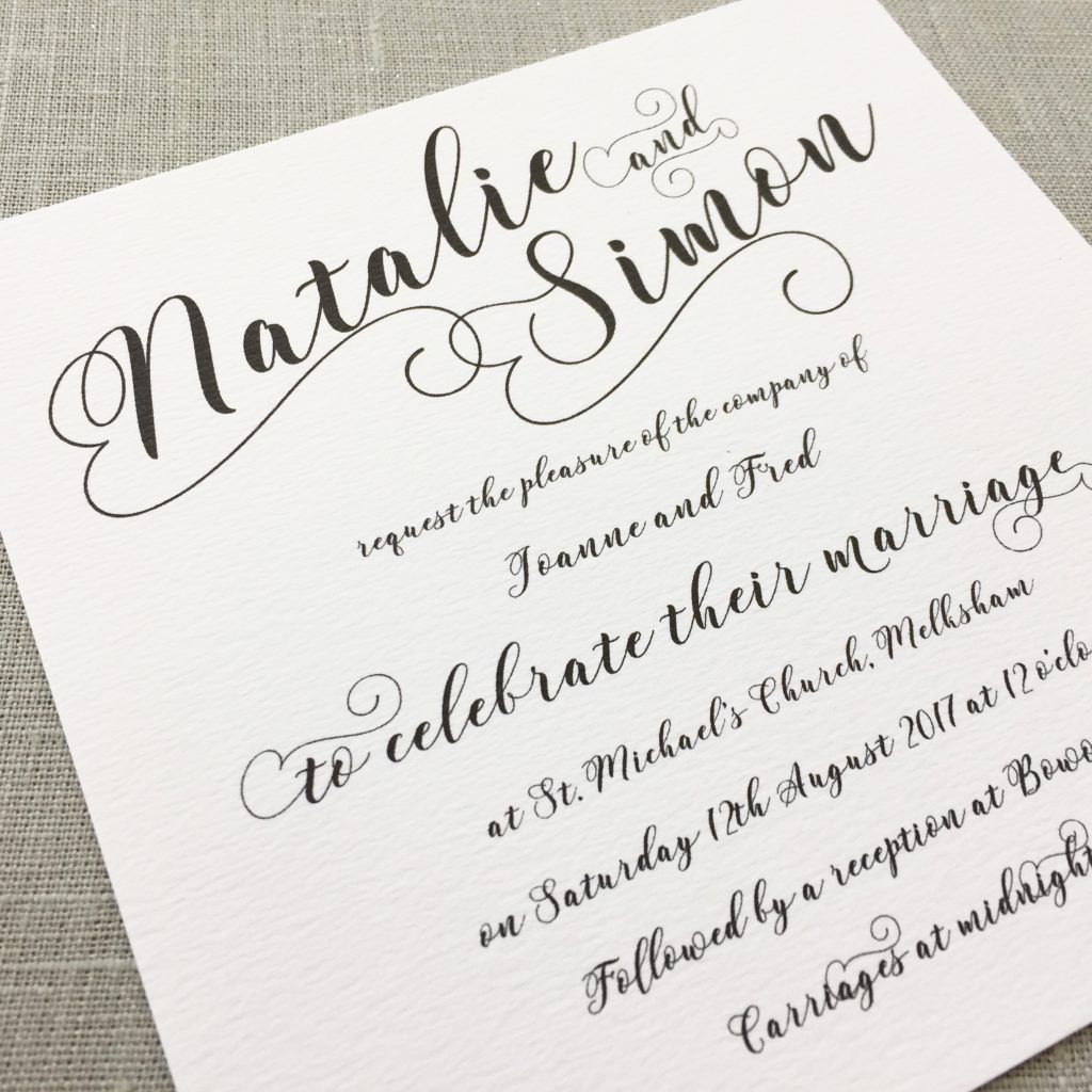 Calligraphy Wedding Invitations Archives Eaton Wedding