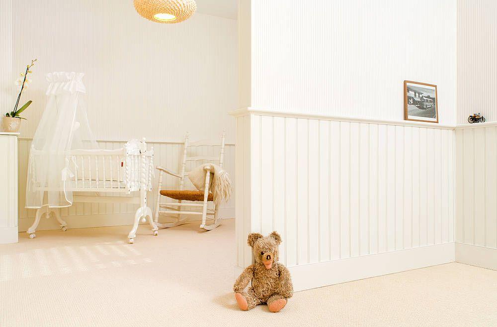 Beadboard De Wandpaneele Im Kinderzimmer Holzverkleidung
