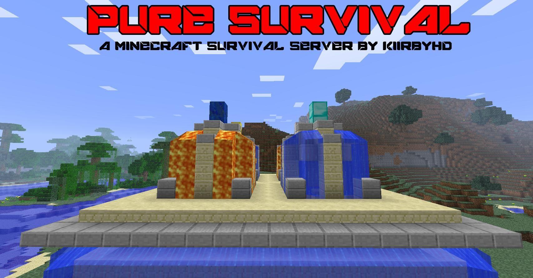 Minecraft Servers Survival  How to play minecraft, Minecraft