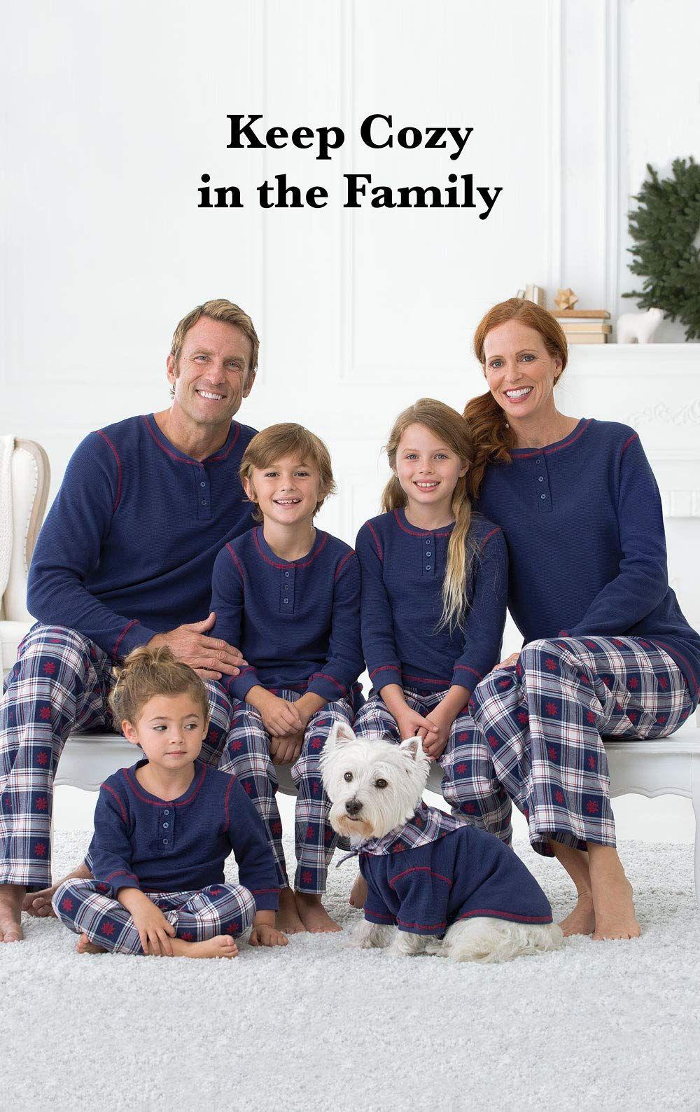 Family Christmas Pajamas Blue.Pajamagram Family Christmas Pajamas Set Matching Family