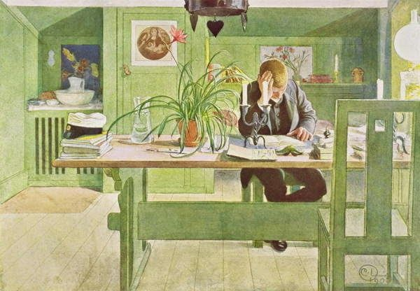 ART & ARTISTS: Carl Larsson - Part 6