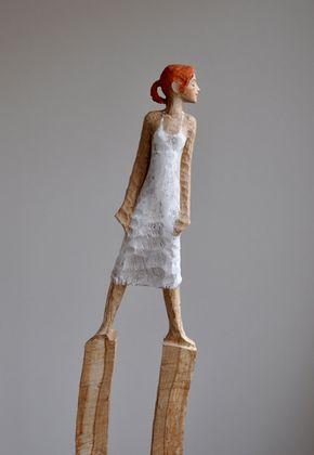 windfrau eiche pigment 2011 ca 160 cm zuk nftige projekte pinterest skulptur. Black Bedroom Furniture Sets. Home Design Ideas